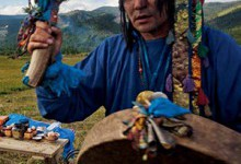 Интервью с шаманом Олегом Доржиевым